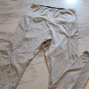 Ododos High Waist Pocket Leggings Grey Small
